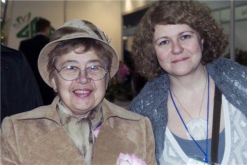 Зинаида Клименко с поклонницей