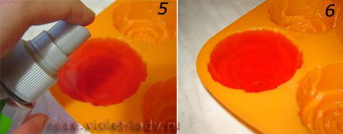 Мыло ручной работы с розовым маслом