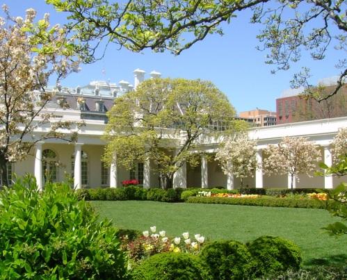 Розарий в Белом Доме