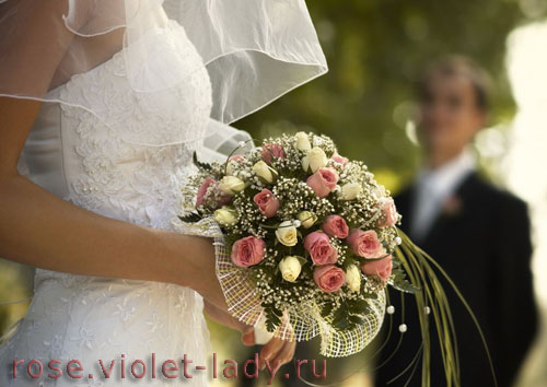 Идеальный свадебный букет