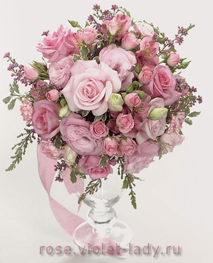 Доставка цветов с курьером