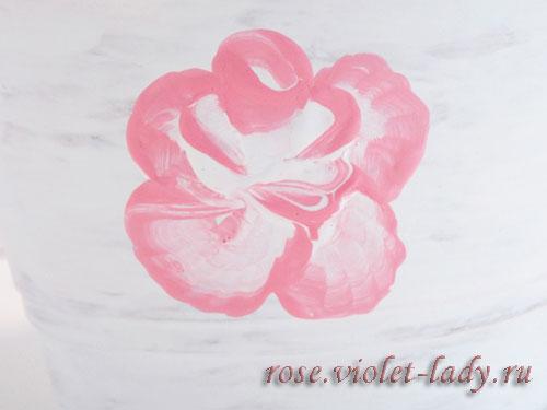 Горшок для розы