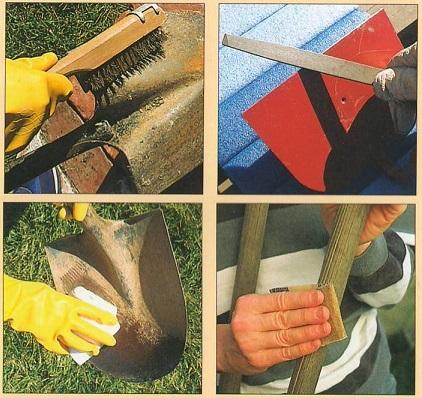 Секреты правильного ухода за садовыми инструментами