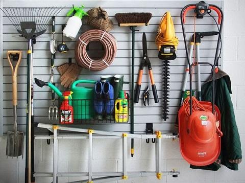 хранение и уход за садовыми инструментами